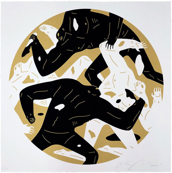 "Cleon Peterson ""Out Of The Darkness"" (Gold)"