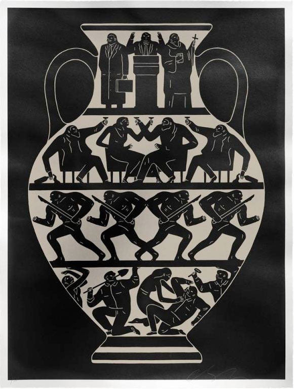 "Cleon Peterson ""Trump 2017"" (Black/Platinum)"