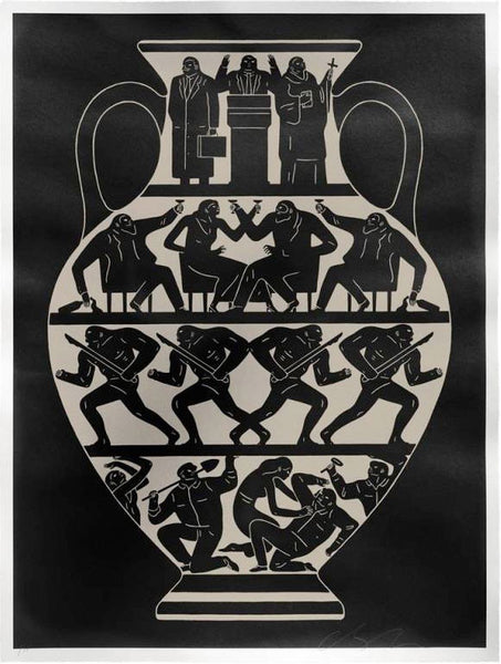 Cleon Peterson Trump 2017 Black Platinum