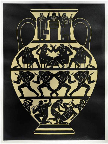 Cleon Peterson Trump 2017 Black