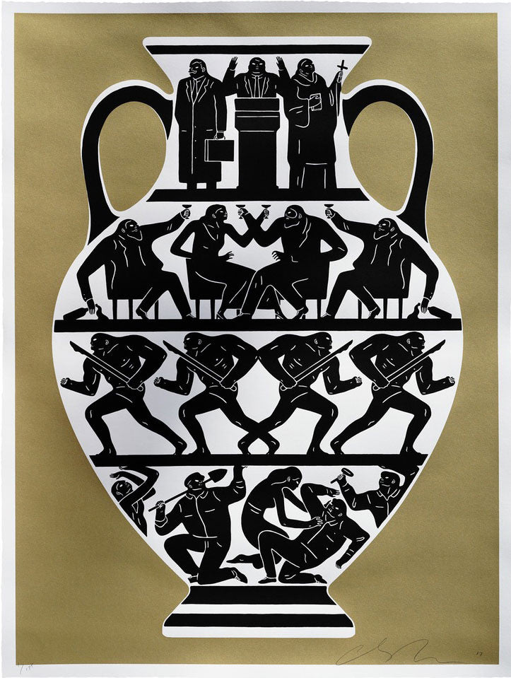 Cleon Peterson Trump 2017 Gold