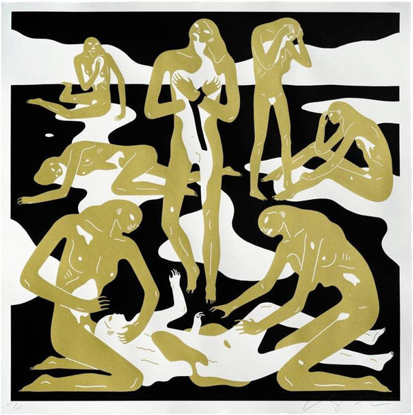 "Cleon Peterson ""Virgins"" (Gold)"
