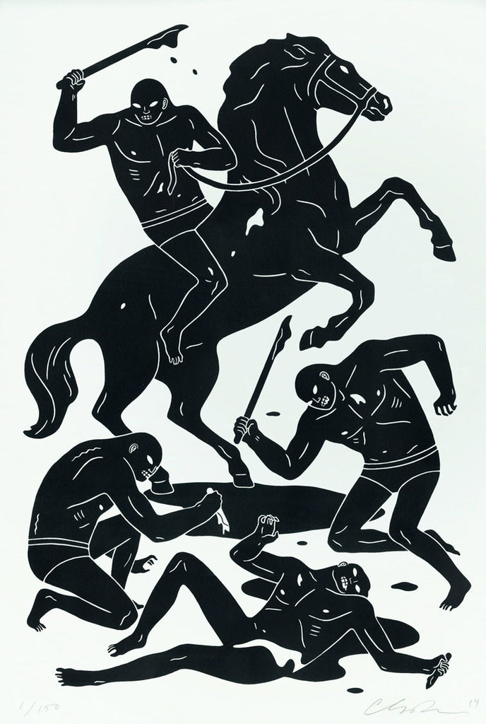 Cleon Peterson Dark Rider