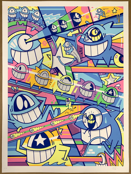 "El Pez ""Happy Pop"" Print (Pastel)"