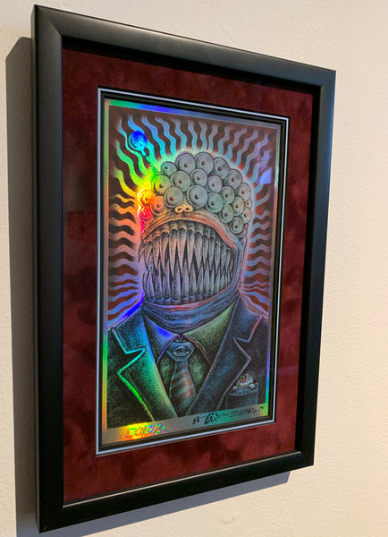 "Emek ""The One That Got Away"" Foil Mini Print"