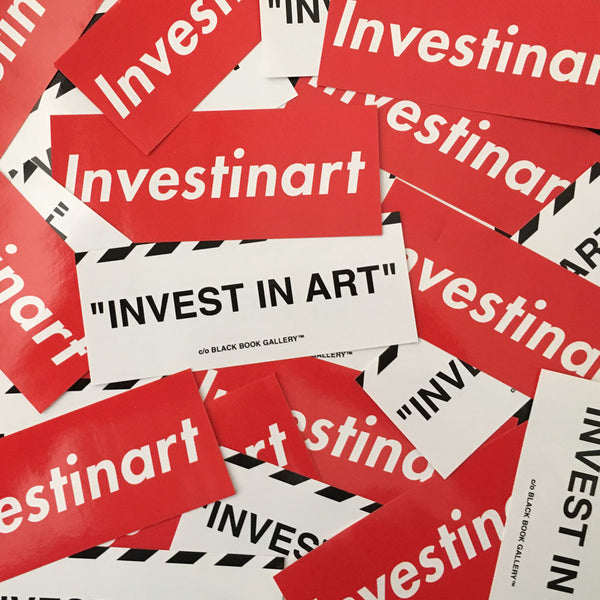 Invest In Art Stickers #2