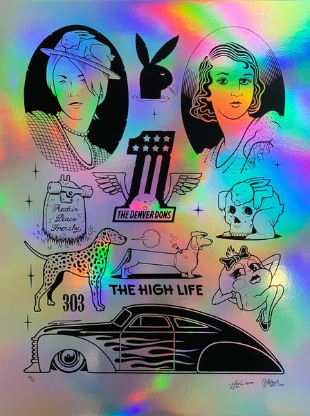 "Jeremy Fish & Mike Giant ""The High Life"" Print Online"