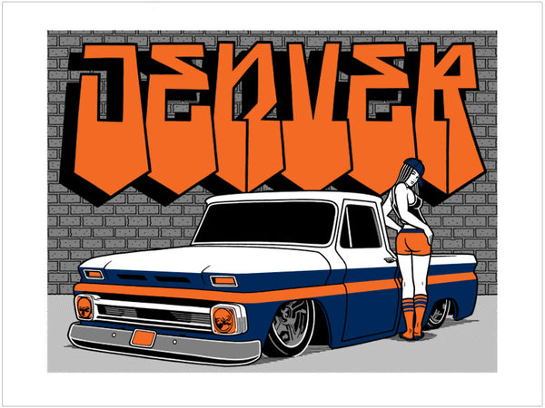 Mike Giant Denver Style Print