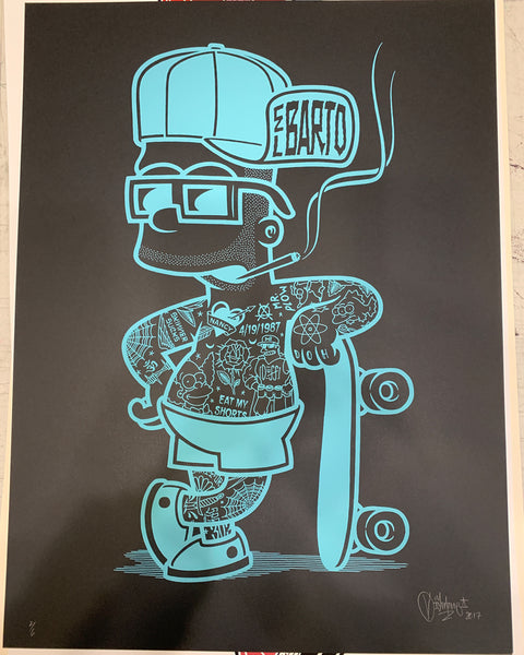 Mike Giant - El Barto Color Variants - Archive