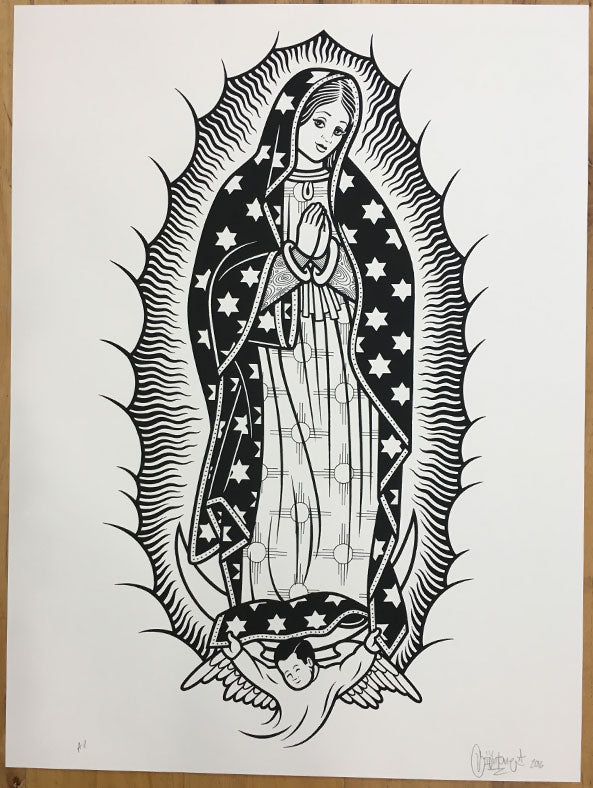 Mike Giant - Guadalupe Print - Archive