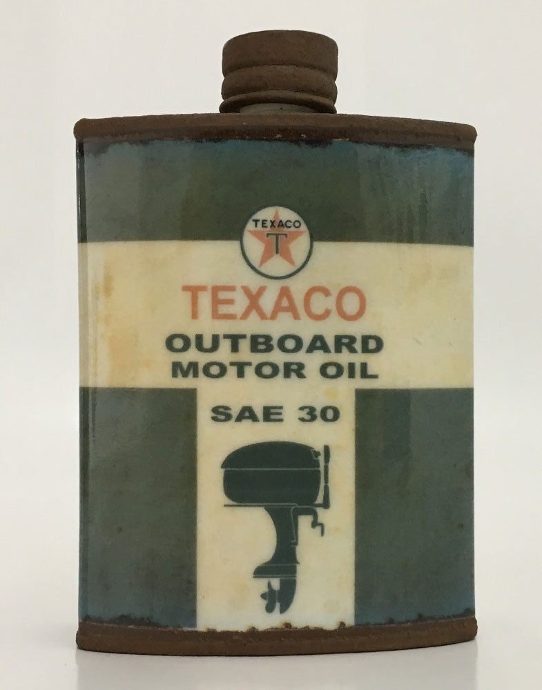 "Mitchell Spain ""Texaco"" Large Hip Flask"