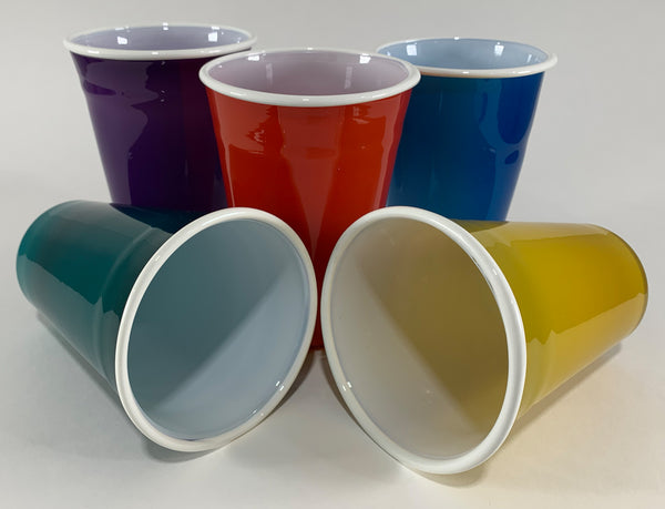 "Paul Swartwood ""Glass Party Cups"""