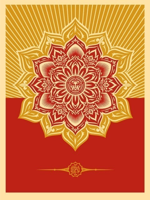 "Shepard Fairey ""Mandala"" (Holiday Variant)"