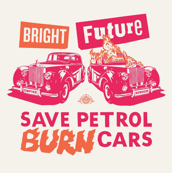 "Shepard Fairey ""Bright Future"" Large Format (Pink/Orange)"