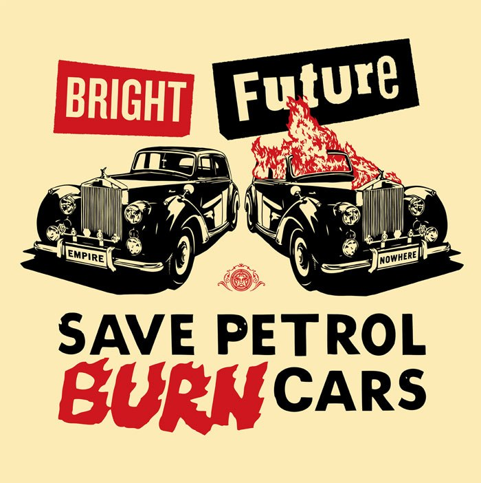Shepard Fairey Bright Future Large Format Red/Black