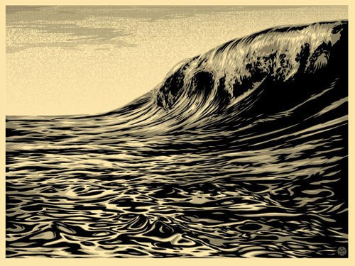 Shepard Fairey Dark Wave Cream