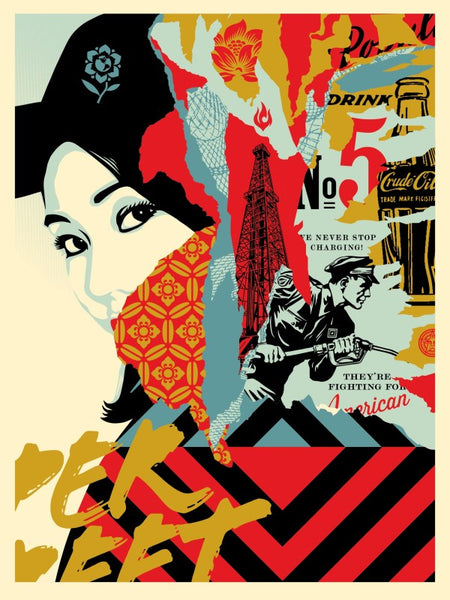 "Shepard Fairey ""Drink Crude Oil"""
