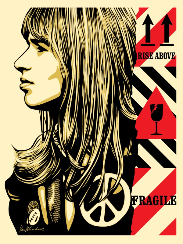 "Shepard Fairey ""Fragile Peace"""