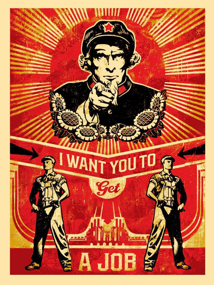 Shepard Fairey - Get A Job
