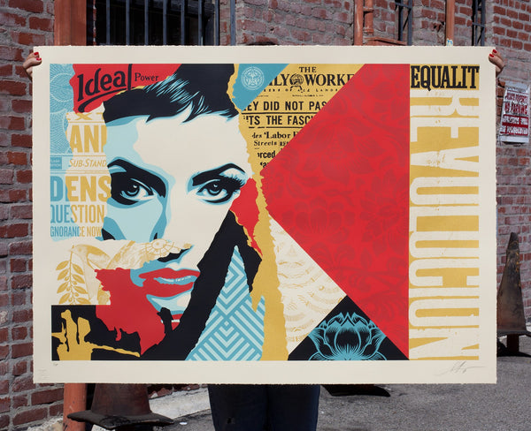 "Shepard Fairey ""Ideal Power"" Large Format"