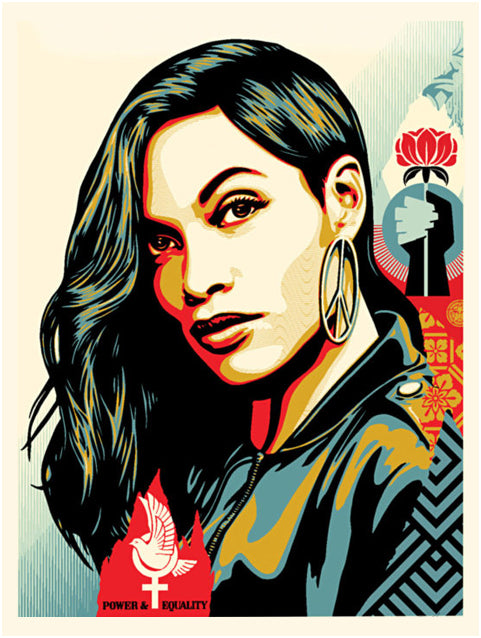"Shepard Fairey ""Power & Equality"" (Dove)"