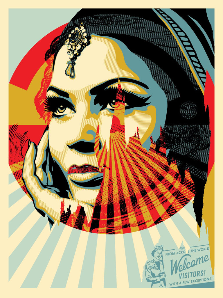 "Shepard Fairey ""Target Exceptions"""