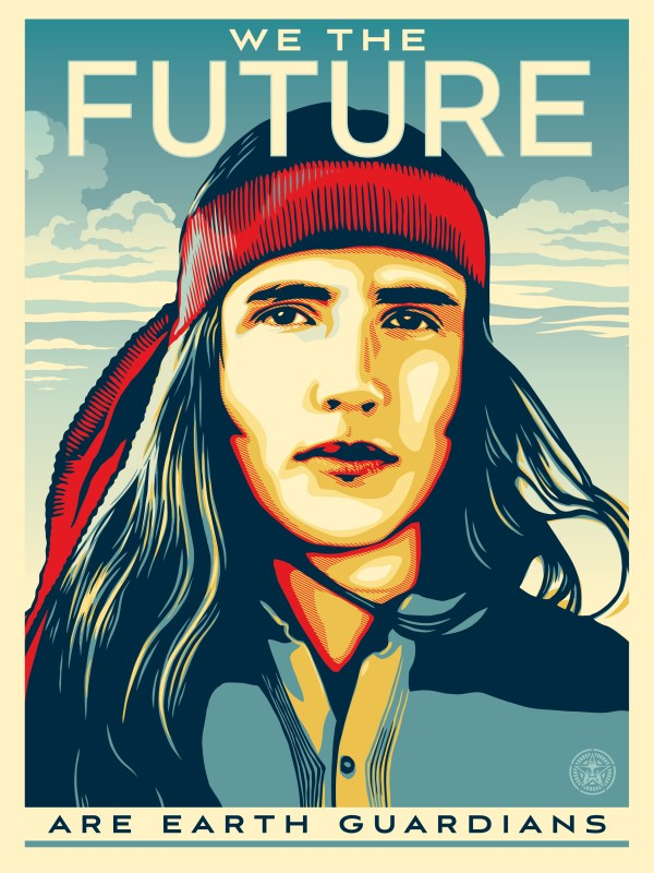 "Shepard Fairey ""We The Future"" (Are Earth Guardians)"