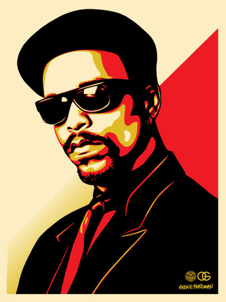 Shepard Fairey Ice T OG Red