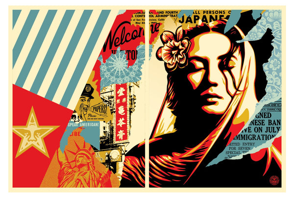 "Shepard Fairey ""Welcome Visitor"""