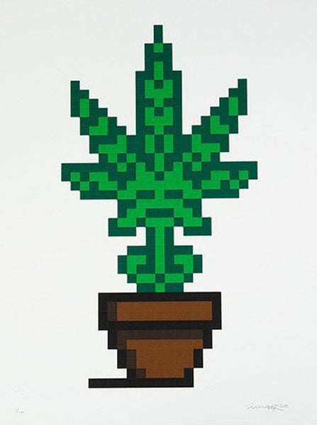 "Space Invader ""Hollyweed"" (Brown)"