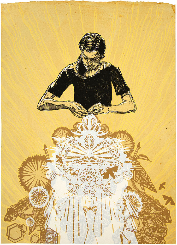 "Swoon ""Alison The Lacemaker"" Print"