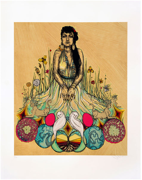 "Swoon ""Moni And The Sphinx"" Print"