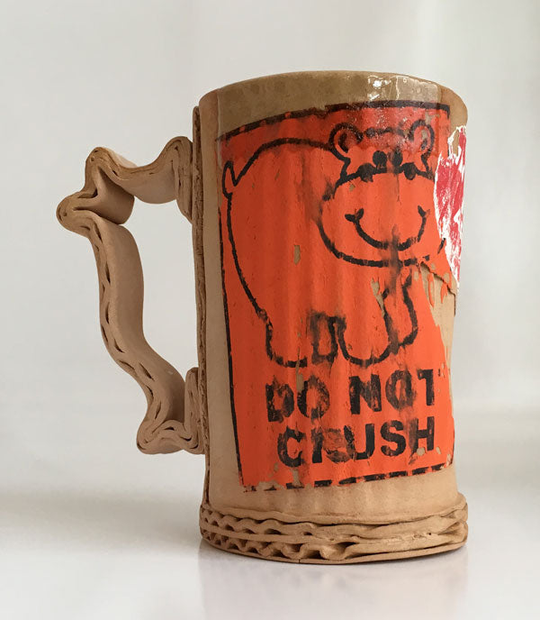 Tim Kowalczyk Do Not Crush Mug Orange #4