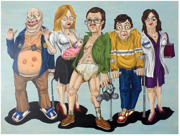 "The Gropes (Rob Roybal) ""Family Ties"""