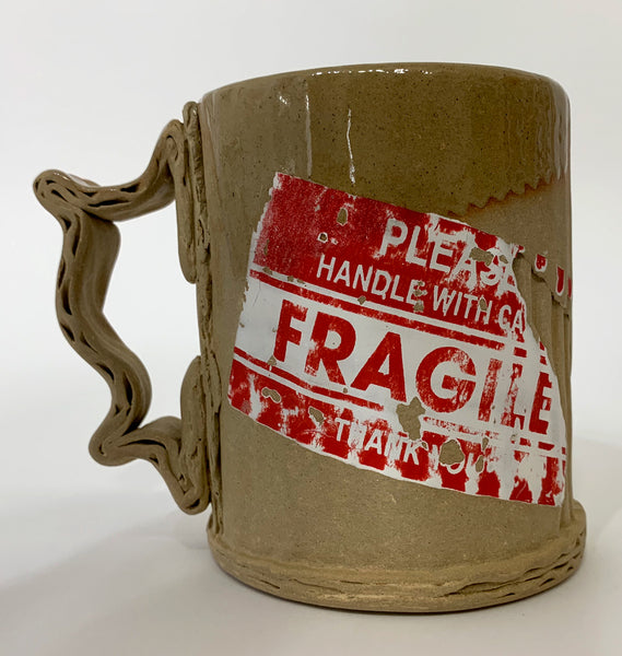 Tim Kowalczyk Fragile Sticker Mug #25
