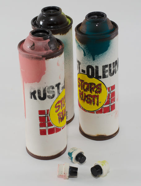 "Tim Kowalczyk ""Rusto Spray Can"" Bottle (Purple I)"