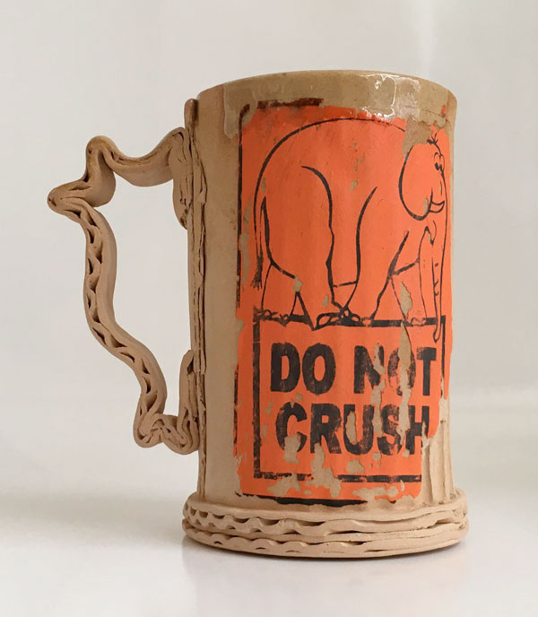 Tim Kowalczyk Do Not Crush Mug Orange #5