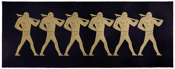 "Cleon Peterson ""Marchers"" (Black)"