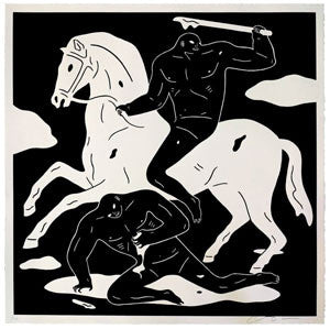 Cleon Peterson The Nightcrawler Black