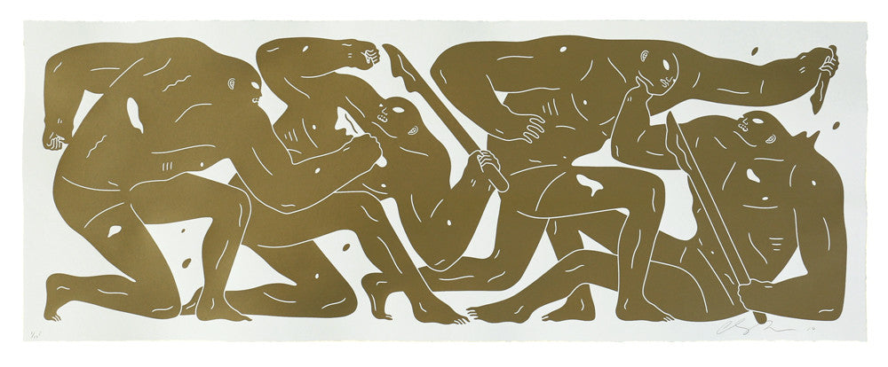 Cleon Peterson The Return Gold