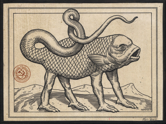 Ravi Zupa - Beastiary #3 Drawing