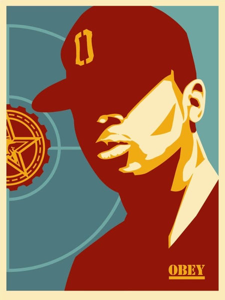 "Shepard Fairey ""Chuck D: Fight The Power"""