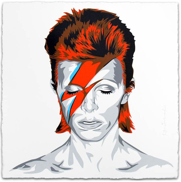 "Mr Brainwash ""Bowie"""