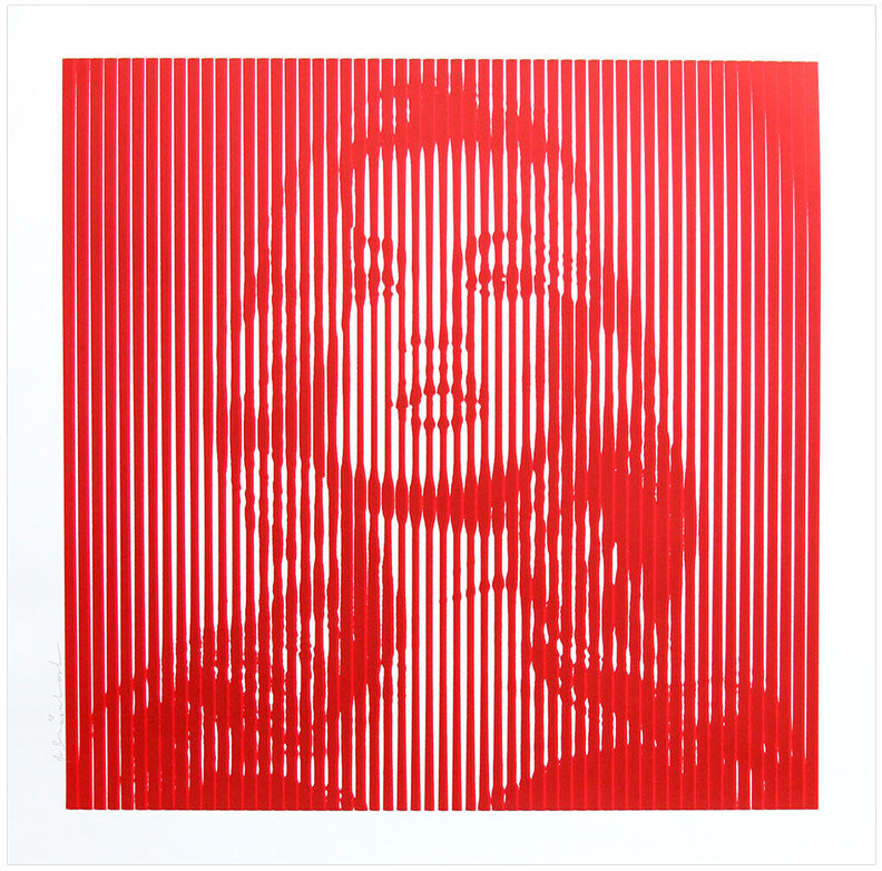 "Mr Brainwash ""Fame Moss - Red on Red"""
