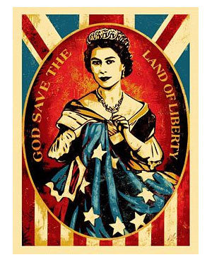 "Shepard Fairey ""God Save The Queen"""