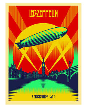 Shepard Fairey Led Zeppelin Celebration Day