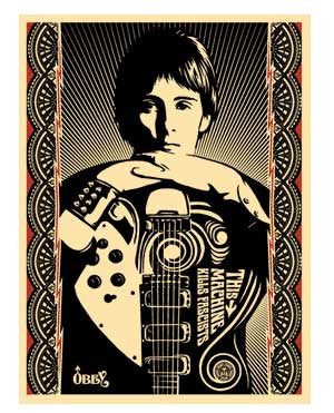 "Shepard Fairey ""This Machine Kills Fascists"""