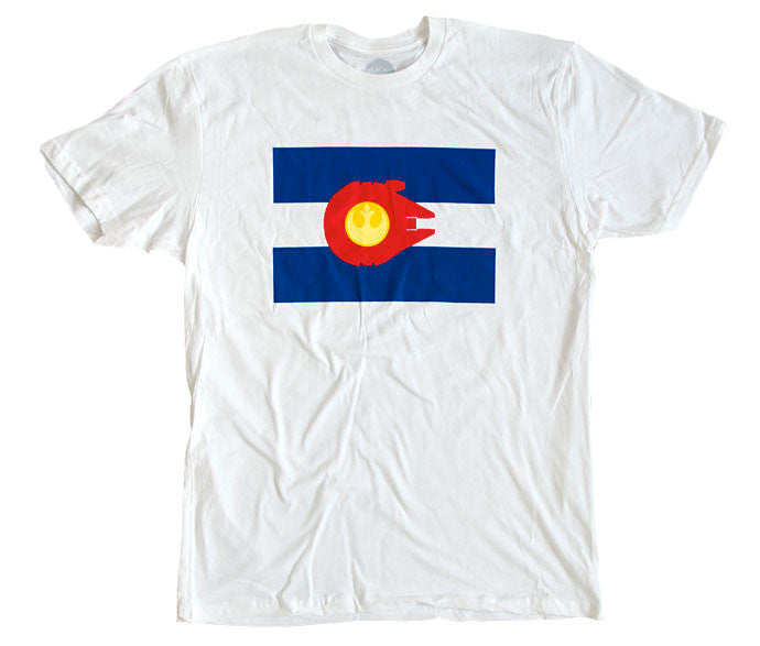 """Rocky Mountain Alliance"" T-Shirt - White - SALE"