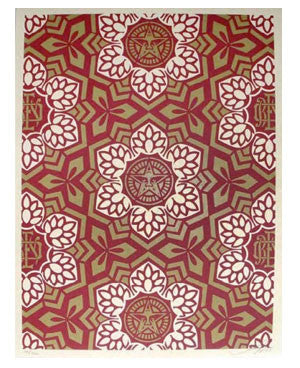 Shepard Fairey Yen Pattern Holiday Edition