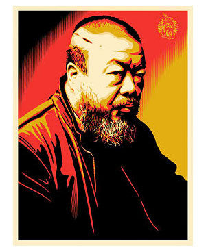 "Shepard Fairey ""Ai WeiWei: Cost of Expression"""